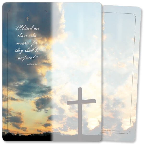 Resurrection For Keeps™ Bookmark Card, Matthew 5:4, w/Envelope