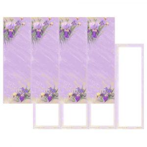 Lavender Iris Micro-Perf