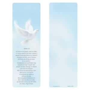 Dove Bookmark, Salmo 23