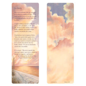 Footprints Bookmark, Las Huellas