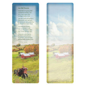 Farm Tractor PMC Bookmark, An Old Tractor
