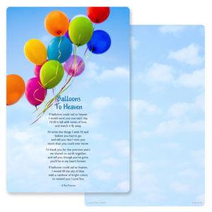 Balloons PMC Album, Balloons To Heaven