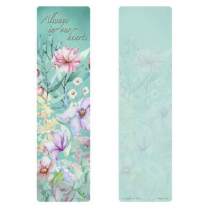 Blooming Garden Large Bookmark