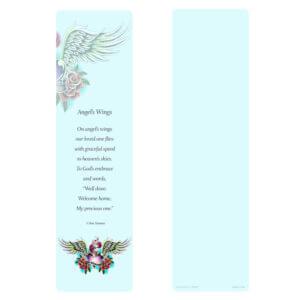 Tattoo Wings Large Bookmark
