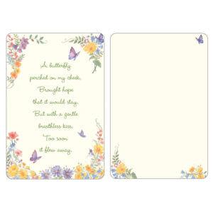 Butterfly PMC Pocket, Butterfly Poem