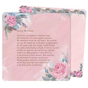 Rose-Rose Color Mini-Album, 23rd Psalm