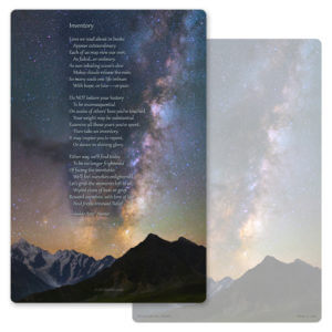"""6"""" x 9"""" Milky Way PMC Album, Inventory"""