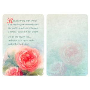 Rose Garden Pocket PMC, Remember Me