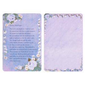 Rose-Lavender Pocket PMC, 23rd Psalm