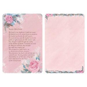 Rose-Rose Color Pocket PMC, 23rd Psalm