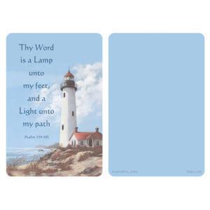 Lighthouse Pocket PMC, Psalm 119:105