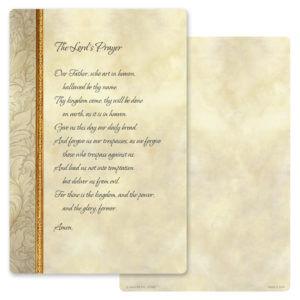 Antique Border Album, Lord's Prayer