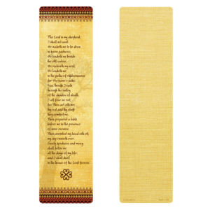 Tree of Life Large Bookmark, 23rd Psalm