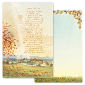 "6"" x 9"" Meadow PMC Album, 23rd Psalm"