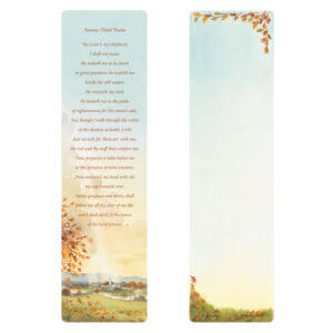 Meadow Large Bookmark, 23rd Psalm