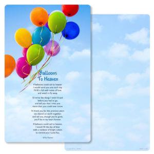 Balloons Junior Album PMC, Balloons to Heaven