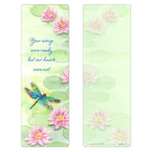 """3"""" x 9"""" Dragonfly, Your Wings"""